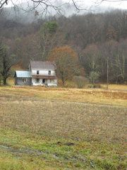 I love old farmhouses.  It would be a dream come true to live in one someday :-)!