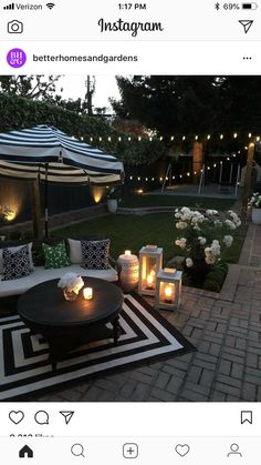 Patio Ideas - Summer season has actually lastly shown up. Below are patio ideas to help you maintain your outdoor entertaining area fresh all season long. Backyard ideas for entertaining Patio Ideas to Beautify Your Home On a Budget Small Backyard Design, Small Backyard Patio, Backyard Patio Designs, Back Patio, Diy Patio, Landscaping Design, Desert Backyard, Romantic Backyard, Outdoor Pool