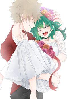 Bakugou Katsuki × [Genderbend] Midoriya Izuku