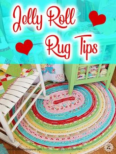The Jelly Roll Rug pattern by RJ Designs has been around for about a year or two. In that time I've seen many beautiful rugs and many no s. Jellyroll Quilts, Rag Quilt, Quilting Tutorials, Quilting Projects, Quilting Room, Quilting Tips, Quilting Patterns, Stitch Patterns, Jelly Roll Sewing