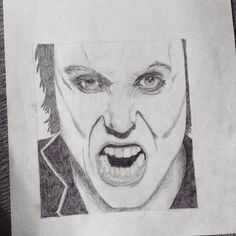 Synyster Gates drawing by me :)