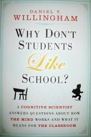Blog review/notes on Why Don't Students like School?