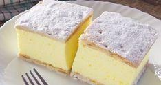 Rețeta originală a cremșnitului. Romanian Desserts, Romanian Food, Sweet Recipes, Cake Recipes, Dessert Recipes, Just Desserts, Delicious Desserts, Yummy Food, Homemade Sweets