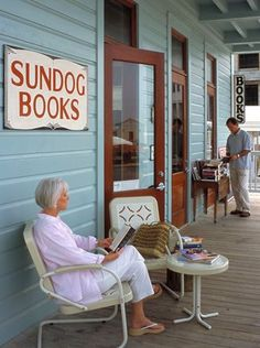 Sundog Books: Seaside FL  Our absolute favorite town to visit by far: little shops, food, beach. Can spend a few hours here.