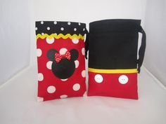 Minnie Mouse or Mickey Mouse Fabric Party by justalittlefavor, $3.65