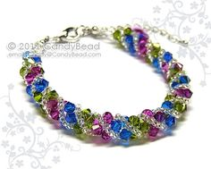 Swarovski Bracelet Berry Twisty Swarovski Crystal by by candybead - StyleSays