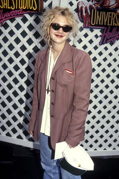 Drew Barrymore not giving a f#$K #word