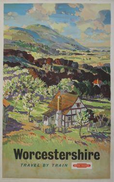 Worcestershire - British railways - 1960's - (L A Wilcox)