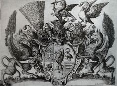 (1) Bookplate with the coat of arms of the Chodkiewicz family by Jan Ziarnko, ca. 1620, British Museum, (2) Surrender of Mikhail Shein at Smolensk in 1634 by Christian Melich, after 1634, Wawel Royal Castle. #surrender #smolensk #christianmelich #wawel #bookplate #coatofarms #chodkiewicz #janziarnko #britishmuseum #etching #engraving #dragon #dragons #peacockfeathers #swan Peacock Feathers, Coat Of Arms, British Museum, Castle, Christian, Swan, Dragons, Artwork, Commonwealth