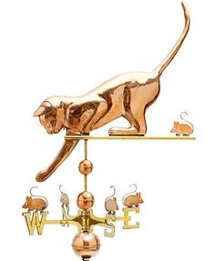 Clever cat weathervane!