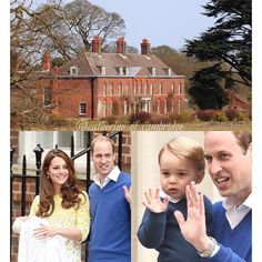 The Cambridges will be off to Norfolk Monday morning. There, the wee princess will meet Her Majesty the Queen. It is said that the couple do have a name for her but would like to introduce her to her great grandmother first before releasing it to the world. Very sweet indeed. ❤️