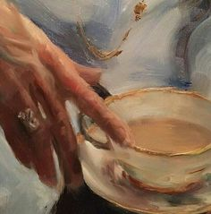 New coffee art painting heart ideas Classical Art, Classic Art, Art Painting, Aesthetic Painting, Renaissance Art, Painting, Art, Pretty Art, Aesthetic Art