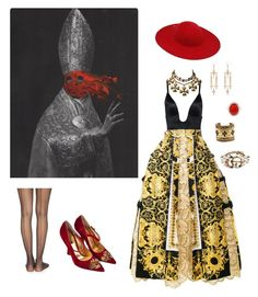 Designer Clothes, Shoes & Bags for Women Wolford, Spanx, Priest, Polyvore Fashion, Versace, Gucci, Chanel, Shoe Bag, Clothing