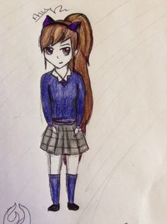 Anu,15 in her school uniform