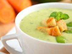 Polévka ze zelených bobů