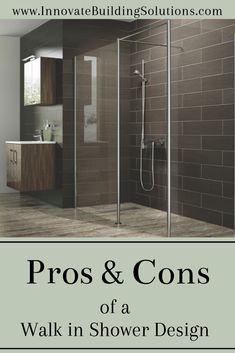 Useful Walk-in Shower Design Ideas For Smaller Bathrooms – Home Dcorz Walk In Shower Designs, Bathtub Designs, Showroom, San Diego, Innovation, Ikea, Modern Bathroom, Design Bathroom, Bathroom Ideas