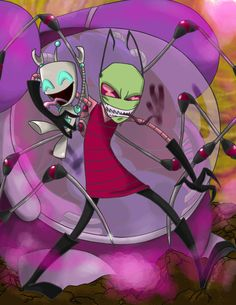 Invader Zim: The Arrival by ~theartslave on deviantART