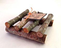 Soap Dish Wooden Rustic by WisemanHillFarm