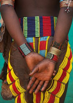 faith-in-humanity:    Hamer girl skirt, Turmi, Ethiopia by Eric Lafforgue on Flickr.