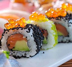 Makan Sushi Jangan 'Lebay' Kalau Gak Mau Sakit Jantung