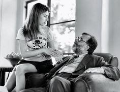 Sofia Coppola & Francis Ford Coppola Bruce Weber, 1994