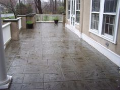 stamped concrete patio photos | Stamped Concrete Path