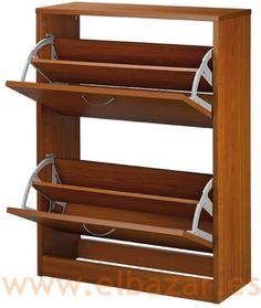 Zapatero Joa 10-13 pares de zapatos, color cerezo | Comprar Ahora | El Bazar