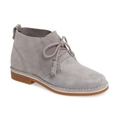 Women's Hush Puppies 'Cyra Catelyn' Chukka Boot (2 680 UAH) ❤ liked on Polyvore featuring shoes, boots, ankle booties, metallic croc suede, rubber sole boots, chukka booties, hush puppies boots, suede ankle booties and crocodile booties