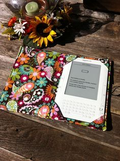 Custom Design your Kindle Cover fits Kindle by ChicBasics on Etsy