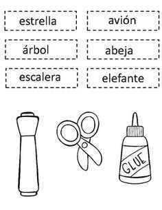 Las Vocales Interactive Notebook: Spanish Alphabet Sortin