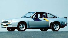 In Germany, the Opel Manta was a popular as the Ford Capri was in the UK. But…