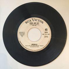 Derek and Ray RCA Victor 47 9111 Interplay Dragnet '67 WLP Promo 45 | eBay
