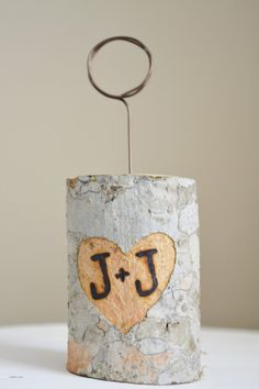 Wood Burning Only For Your Wedding Table Number Holders