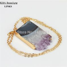 Find More Chain Necklaces Information about Druzy Agate Square Quartz Stone Pendant Necklace,Fashion Drusy Stone Necklace,High Quality necklace daisy,China stone lowes Suppliers, Cheap stone pendant necklace from -LINKS on Aliexpress.com