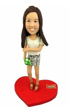 My own Bubblehead .......... Model D22 Fully Personalized Bobble Head Clay Figurines Based on Customers' Photos IntoU http://www.amazon.com/dp/B00H48Y0L6/ref=cm_sw_r_pi_dp_Px-.wb187268K