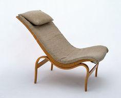 Vilstolen Chair, Bruno Mathsson (designer), Firma Karl Mathsson (manufacturer), Värnamo, Sweden, 1936, V&A Museum