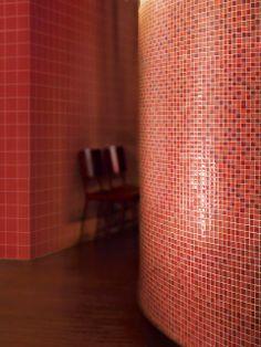 Crossville Porcelain Tile - Glass Blox - Dazzle Red - Orange Sizzle/Flame