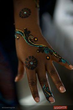 Images of Traditional Kenyan and Nigerian Bridal Henna Tattoos