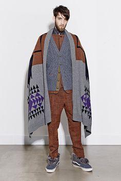 Sacai | Fall 2014 Menswear Collection | Style.com