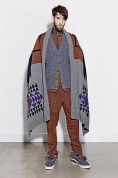 Sacai | Fall 2014 Menswear Collection | Style.com