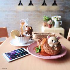 iPhone Gu : No.138 >>> [ IG - ooyoyoo ]  #toy #rement #miniature #rilakkuma #tiny