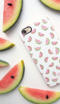 Cute Watermelon iPhone Cases! Available for iPhone 6, iPhone 6 Plus, iPhone 5/5s, Samsung Cases and many more.