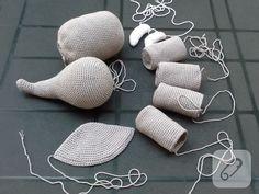 Amigurumi elephant making, Crochet Animal Amigurumi, Crochet Elephant, Amigurumi Toys, Amigurumi Patterns, Crochet Animals, Crochet Patterns, Crochet Gifts, Crochet Toys, Free Crochet