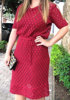 Crochetemoda: Vestidos.... #crochet_inspiration ......