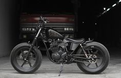 """Wangwung"" , daily used bobber Yamaha SX225, scorpio | ArtNarchy Custom Garage"