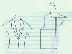Dress Making Patterns, Easy Sewing Patterns, Coat Patterns, Blouse Patterns, Clothing Patterns, Collar Pattern, Jacket Pattern, Sewing Collars, Sewing Alterations