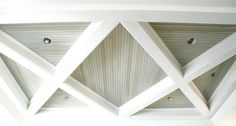 Triangular Coffered Ceiling