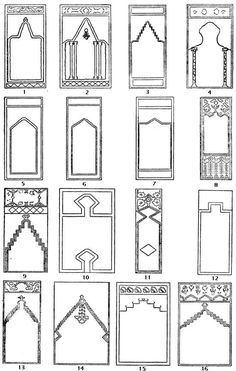 Plate D.--Prayer Arches of Asia Minor Rugs