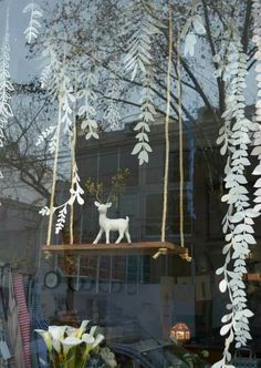 Image result for scandinavian holiday window