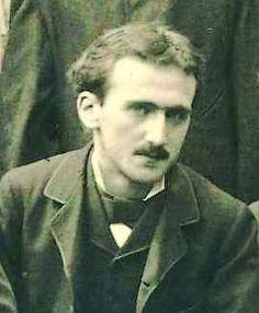 Henri Bergson en 1878 à l'École normale supérieure.